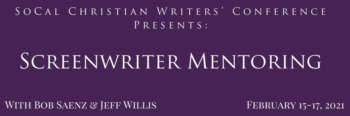 Screenwriter mentoring with Bob Saenz and Jeff Willis February 2021